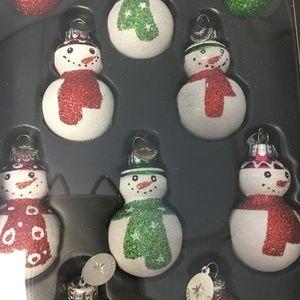 Christopher Radko Glass Christmas Ornament Set 10